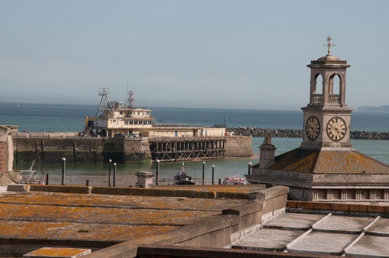 Aussicht auf den Hafen von Ramsgate