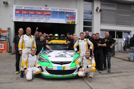 Unser Team beim 24H Rennen 2014