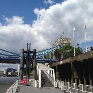 Anleger vom Riverboat