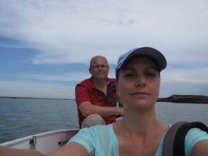 Flussfahrt im Bananaboot