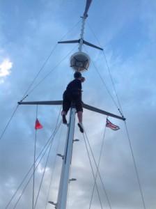 Capitana im Mast