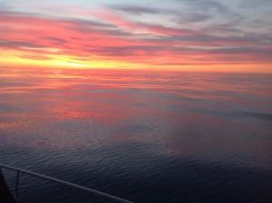 Sonnenuntergang ohne Worte